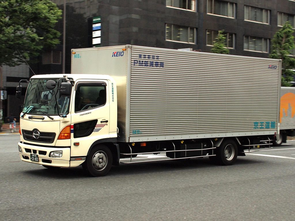 Dry Van (Enclosed )Trailer- a type of trailer